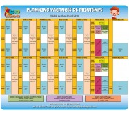 STAGES VACANCES DE PAQUES 3-10 ANS