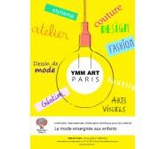 Cours de mode enfants, adolescents et adultes, chez YMM ART Paris