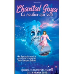 "EXCLU 4 PLACES DE SPECTACLES ""Chantal Goya et le soulier qui vole"""