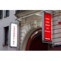 Visite des coulisses du théâtre Le Lucernaire !