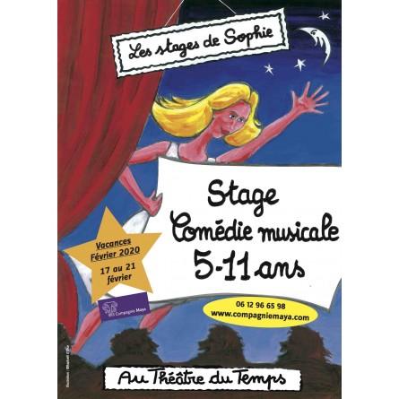 STAGE 5-11 ans Comédie musicale Vacances février 2020