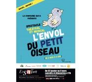 SPECTACLE 6 MOIS - 5 ANS, Paris 4e: L'Envol du Petit Oiseau