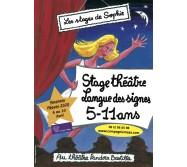 Stages 5-11 ans Théâtre/Musique Pâques 2020