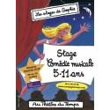 Stage 5-11 ans Comédie Musicale vacances Toussaint 2020