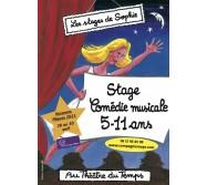 Stage 5-11 ans Comédie Musicales Pâques 2021