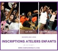 Ateliers Enfants : Théâtre, Hip-hop, Comédie Musicale