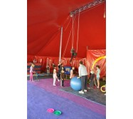 école de cirque stages et cours cirque équitation aériens