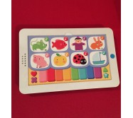 Tablette musicale comptine