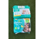 Couches Pampers baby-dry taille 5