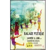 Ballade Poétique, le 10 juin 2017 , Quartier des chalets, Toulouse
