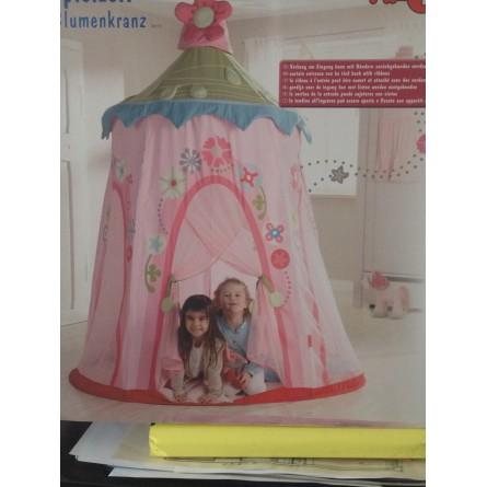 Tente de princesse... très rose