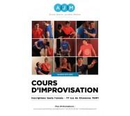 Cours d'improvisation à l'École Atelier Juliette Moltes