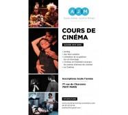 Cours de cinéma à l'École Atelier Juliette Moltes